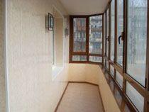 Отделка балкона в Архангельске. Отделка лоджии